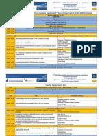 Program - 11th PALA - Innsbruck 2011