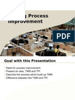 Testing Process Improvement
