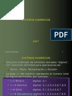 Capitulo i - Sistemas Numericos