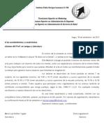 invitación alumnos literatura - Seguí