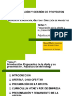 Organizacion y Gestion de Proyectos