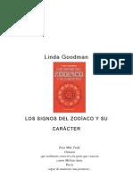 Goodman, Linda - Los signos del zodíaco y su carácter [Libros en español - astrología]