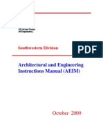 Architectural and Engineering Instructions Manual 2000