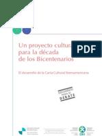 Documento de los Bicentenarios - Cultura