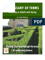 Glossary of Terms Relating to Death and Dying