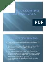 El Modelo Cognitivo Constructivista