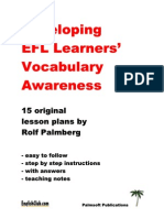 EC Vocabulary Awareness