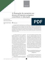 Anexo 3 - A Formacao Da Memoria No to Psiquico - Contributo a Educacao