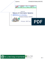 Stud-01-Nature of Information Systems