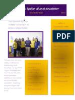 Kappa Class Newsletter