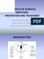 1.Prevention and Treatment of Surgical Infection Edit