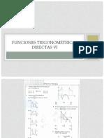 Funciones trigonométricas directas VI