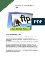 Manual Servidor Ftp en Windows Server