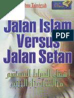 Iqtida Jalan Islam vs Jalan Setan
