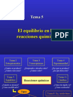 F.Q.-Equilibrio