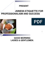 Western Business Etiquette for Professionalism and Success