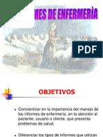 INFORMES DE ENFERMERÌA