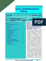 Boletin de Jurisprudncia Fiscal 23-2005