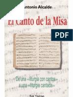 Antonio Alcalde - El Canto de La Misa