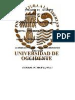 UNIVERSIDAD   DE    OCCIDENTE123654