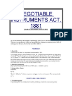 Business Law (NI Act)