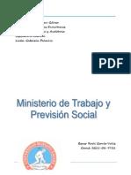Resumen Ministerio Trabajo