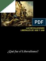 4 Revoluciones Liberales 1830-1848