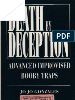Death by Deception-Advanced Improvised Booby Traps - Jo Jo Gonzales - Paladin Press