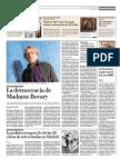 La democracia de Madame Bovary, según Rancière
