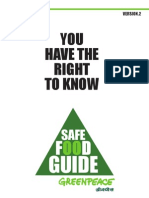 Safe Food Guide
