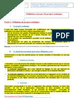 chapitre progrès technique fiche 1 2011-2012