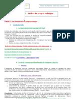 chapitre progrès technique fiche 2 2011-2012