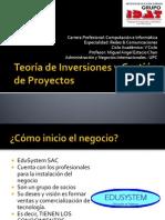 Semana 01 - Proyectos de Inversión