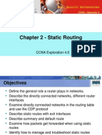 CA Ex S2M02 Static Routing