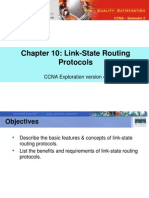 CA Ex S2M10 Link-State Routing Protocol