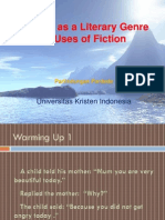1. the Nature and Uses of Fiction & Reader Response