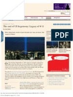 The End of US Hegemony_ Legacy of 9_11 - FT-Com