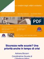 Impararesicuri 2011 - IX Edizione, presentazione principali dati di Adriana Bizzarri