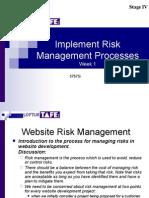 Risk-2006 week 1