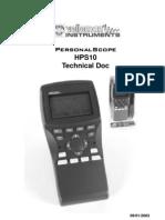 HPS10 calidrare schema