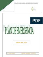 Plan de Emergencia Modificado en Nov. 2010