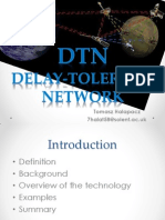 Delay Tolerant Networks Presentation