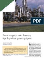 Plan de Emergencias Contra Derrames y Fugas de Productos Quimicos Peligrosos