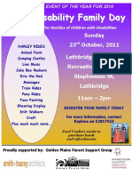 2011 Disabilty Day Poster