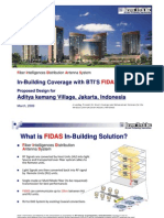 In-Building Coverage Solution Aditya Kemang Village 090401 v1