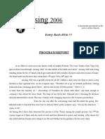 Arising '06 Program Report