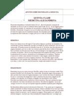 5- La Medicina Alejandrina