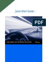Quick Start Guide - QLogic 2Gb 4Gb 8Gb FC HBA Standard E