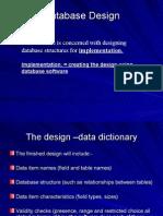 Data Dictionaries