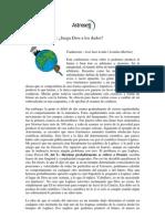 Libro - ( Stephen Hawking) Juega Dios a Los Dados ( Español)
